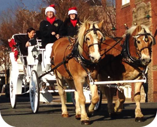 Take a Carriage Ride with Santa at Ashburn Village Center